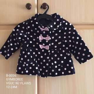 Gymboree Baby Girl Winter Jacket 12-24M