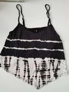 American Eagle Soft Crop Tank Small