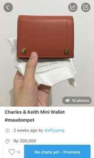 SALE!! Clay Wallet