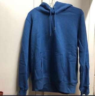 全新Gu淨色寬鬆衛衣 hoodie