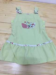 Girl dress overall 1y