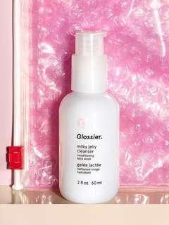 Brand New Glossier Milk Jelly Cleanser Mini