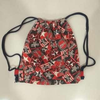 Coca cola Vintage Drawstring Bag