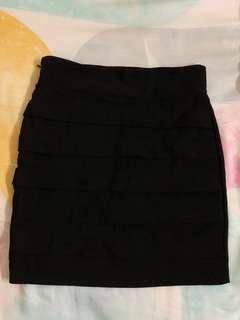 Black Mini Skirt #MMAR18