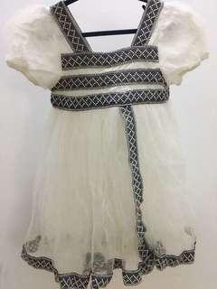 White soft dress