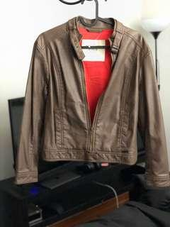 Abercrombie & Fitch Leather jacket