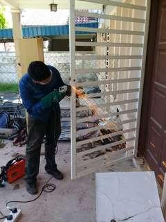 Grill repair welding services