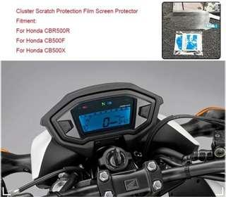 Cb400x Speedometer Screen Protector ( Clear ) * Instock *