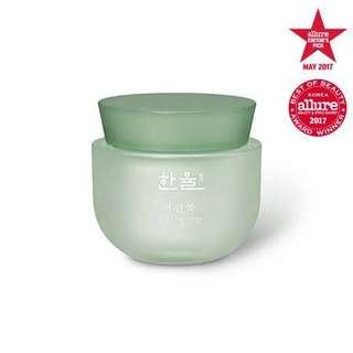 韓律 Hanyul pure artemisia watery calming cream 嫩艾草舒緩保濕霜 50ML