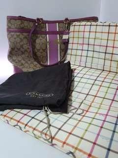 Authentic Coach Baby / Diaper Bag