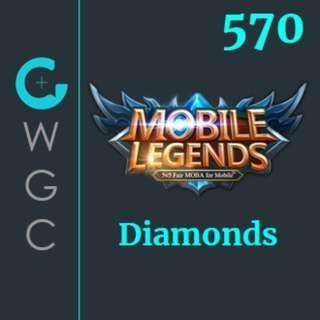 Mobile Legends Diamonds Top-up