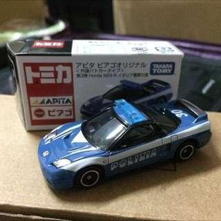 日版 Tomica Honda NSX-R police Apita 本田 Takara Tomy nsx