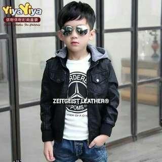 jaket semi kulit anak