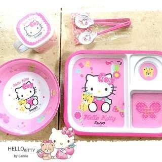 Hello Kitty Set #piring#mangkok#cangkir#sendok#hellokitty#kitty#pink#ibuhebat
