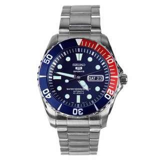BNIB Seiko Automatic Divers 23 Jewels 100m Watch SNZF15 SNZF15K1 SNZF15K Men's Watch