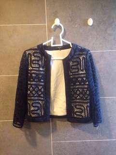 Crochet Blazer #MMAR18