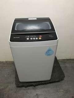 🚚 Very new sharp 7kg Washing Machine