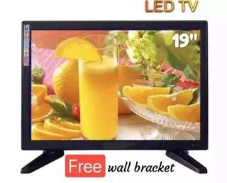 """LED TV 19"""" with Free Wall Bracket 2,499 lang!"""