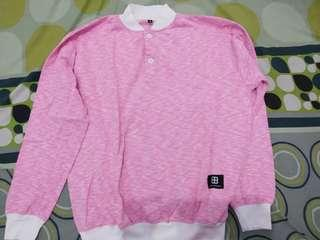 DENKA PROJECT BETHANE PINK SWEATER ORIGINAL