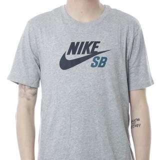 NIKE SB grey/teal t-shirt