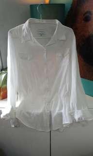 Cotton On White LS