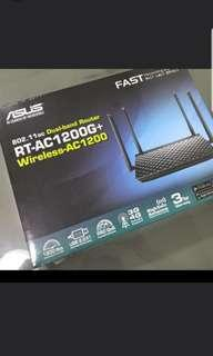 BRAND NEW ASUS RT-AC1200G+ WIFI WIRELESS ROUTER