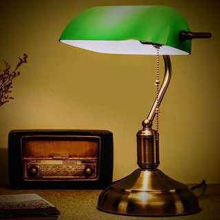 復古懷舊 智能雲端 WiFi LED 閱讀枱燈