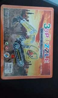 Kids toys -3d puzzel tractor at blessing price