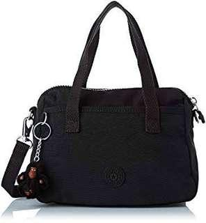 Bnew Authentic KIPLING Emoli Small Crossbody Black Bag