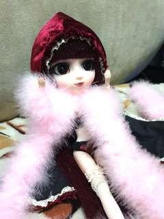🚚 Pullip Bloody Red Hood (with partial original stock clothing)