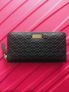 Kate Spade black Long purse