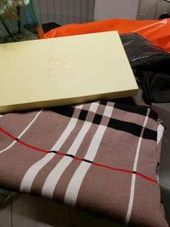 burberry pancho style shawl