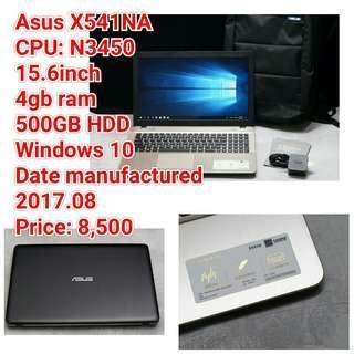 Asus X541NA