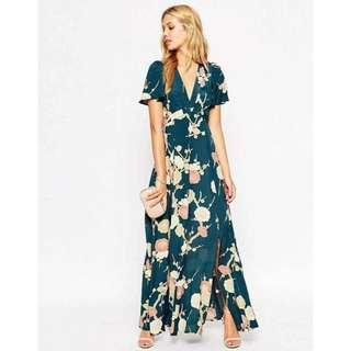 Maxi Dress in Floral Bloom