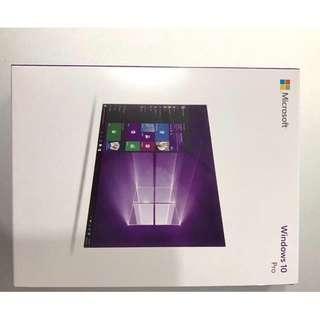 Windows 10 Win10pro 專業版, 64bit 彩盒版 另有OEM版本 (請詳細看產品描述)