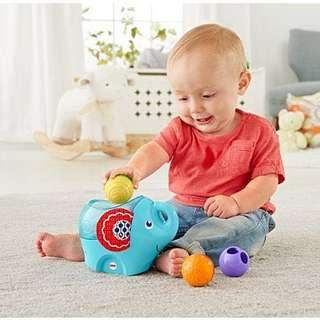 🚚 ~Ready Stocked~ Fisher-Price Roly-Poly Elephant with activity balls
