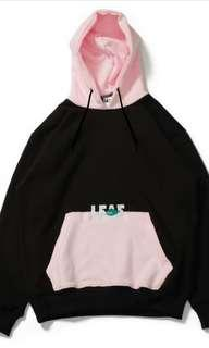 Hoodie multi colors LEAF GANG // BLACK PINK