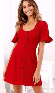 Soirée Dress Red