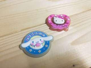🚚 三麗鷗 hello kitty 凱蒂貓 大耳狗 磁鐵
