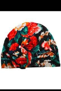 🚚 Floral Baby Caps - Turban Edition