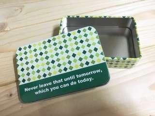 🚚 馬口鐵小鐵盒 飾品盒 零錢收納 收納盒