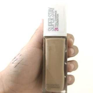 Maybelline superstay matte foundation