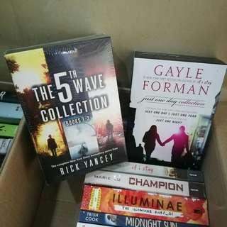 BUNDLE new Php1500 2 Boxed sets