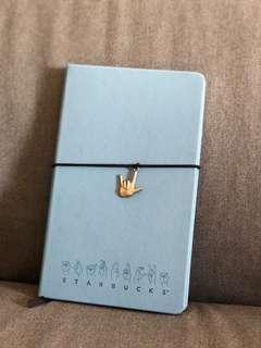 Starbucks Light Blue Journal Book