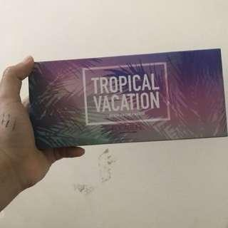 Focallure : eyeshadow palette tropical vacation