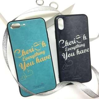 """Cherish Everything You Have"" Phone Cases"