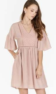 🚚 TCL Corila Eyelet Panel Dress
