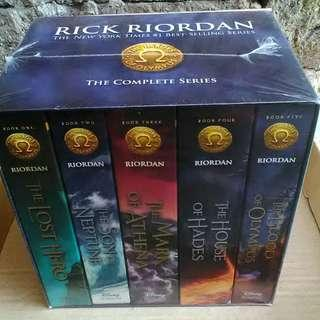 Heroes of Olympus Paperback Boxed Set - Sealed and Brand New