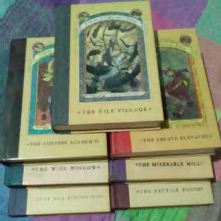 Series of Unfortunate Events Book 1 - 7