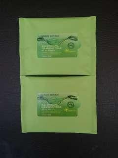 2 pax Jeju Sparkling Cleansing Tissue